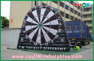 Κίνα Διογκώσιμα αθλητικά παιχνίδια μουσαμάδων PVC, συνήθεια που διαφημίζουν τον πίνακα βελών Inflatables προμηθευτής
