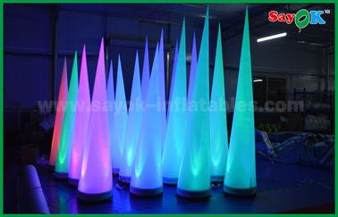 Κίνα Ζωηρόχρωμος διογκώσιμος κώνος σκηνικών διακοσμήσεων φωτισμού για τη λέσχη/την προώθηση προμηθευτής