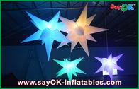 καλής ποιότητας Διογκώσιμη σκηνή αέρα & Γάμος που κρεμά το διογκώσιμο διογκώσιμο οδηγημένο αστέρι διακοσμήσεων φωτισμού για την πώληση