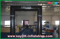 Κίνα PVC πρότυπη αδιάβροχη πτυσσόμενη πύλη αψίδων πορτών κύβων τετραγωνική διογκώσιμη με το λογότυπο επιχείρηση