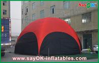 Κίνα Κόκκινο Hexagon μεγάλο υπαίθριο διογκώσιμο PVC σκηνών της 3M για την κλίση επιχείρηση