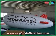 Κίνα διογκώσιμο μπαλόνι 5m ηλίου λογότυπων συνήθειας PVC 0.2mm αεροπλάνο Zeppelin ηλίου εργοστάσιο