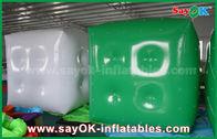 Κίνα Διαφήμιση του άσπρου πράσινου διογκώσιμου μπαλονιού/του μπαλονιού ηλίου κύβων με την τυπωμένη ύλη λογότυπων εργοστάσιο