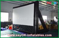 Κίνα 7mLx4mH διογκώσιμο υλικό PVC οθόνης κινηματογράφων με το πλαίσιο για την προβολή εργοστάσιο