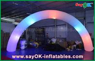 Κίνα νάυλον πύλη τρόπων αψίδων φωτισμού Inflatble υφασμάτων 63cm DIA για τη διακόσμηση εργοστάσιο