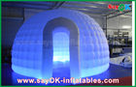 καλής ποιότητας Διογκώσιμη σκηνή αέρα & 210D διογκώσιμη σκηνή αέρα παγοκαλυβών υφασμάτων της Οξφόρδης γύρω από τη σκηνή θόλων με το φως των οδηγήσεων για την πώληση