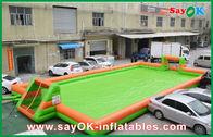 καλής ποιότητας Διογκώσιμη σκηνή αέρα & 0,55 PVC διογκώσιμη πίσσα αγωνιστικών χώρων ποδοσφαίρου/ποδοσφαίρου αθλητικών παιχνιδιών φορητή για την πώληση