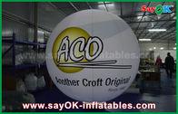 Κίνα αεροστεγή διογκώσιμα επίγεια μπαλόνια PVC 0.2mm αδιάβροχα με την τυπωμένη ύλη λογότυπων εργοστάσιο