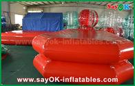 Κίνα Κόκκινη αεροστεγής κολυμπώντας λίμνη λιμνών νερού PVC διογκώσιμη για το παιχνίδι παιδιών εργοστάσιο
