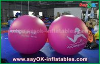 Κίνα Γιγαντιαίο 2m DIA PVC κόκκινο διογκώσιμο μπαλονιών υπαίθριο μπαλόνι ηλίου διαφήμισης διογκώσιμο εργοστάσιο