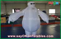 Κίνα Διογκώσιμο κοστούμι μασκότ Baymax/διογκώσιμο ρομπότ Baymax για το λούνα παρκ παιδιών εργοστάσιο