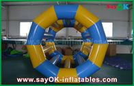 Κίνα Κίτρινα/μπλε αστεία κυλώντας διογκώσιμα νερού παιχνίδια λιμνών παιχνιδιών διογκώσιμα για το πάρκο νερού εργοστάσιο