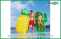 Κίνα Διάφορα ακατέργαστα διογκώσιμα υπαίθρια παιχνίδια επιπλεόντων σωμάτων λιμνών φετών φρούτων μορφών για την κολύμβηση εργοστάσιο