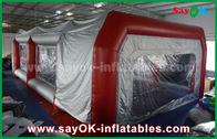 Κίνα Αδιάβροχος διογκώσιμος θάλαμος ψεκασμού PVC σκηνών αέρα για τον ψεκασμό χρωμάτων αυτοκινήτων εργοστάσιο