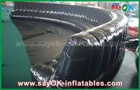 Κίνα Φιλικά προς το περιβάλλον διογκώσιμα προϊόντα 6 συνήθειας - 10m ο Μαύρος σφράγισε ερμητικώς το διογκώσιμο καναπέ PVC 0.6mm εργοστάσιο