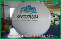 Κίνα Γιγαντιαίο 2m DIA μπαλόνι ηλίου PVC άσπρο διογκώσιμο για την υπαίθρια διαφήμιση εργοστάσιο