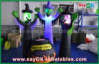 Κίνα 210D διογκώσιμα τρομακτικά φαντάσματα υφασμάτων της Οξφόρδης και μαγικό βάζο με το φωτισμό των οδηγήσεων για αποκριές εργοστάσιο