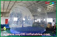 Κίνα διογκώσιμες διακοσμήσεις διακοπών 3m Dia/διαφανής διογκώσιμη σφαίρα χιονιού Chrismas για τη διαφήμιση εργοστάσιο