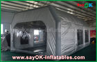 Κίνα Γκρίζο αδιάβροχο PVC Prefessional και διογκώσιμος θάλαμος χρωμάτων υφασμάτων της Οξφόρδης για τη ζωγραφική αυτοκινήτων εργοστάσιο