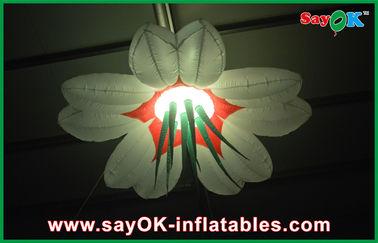 Οδηγημένη γιγαντιαία διογκώσιμη διακόσμηση φωτισμού της Οξφόρδης ύφασμα 2m/2.5m