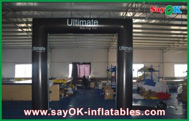 PVC πρότυπη αδιάβροχη πτυσσόμενη πύλη αψίδων πορτών κύβων τετραγωνική διογκώσιμη με το λογότυπο
