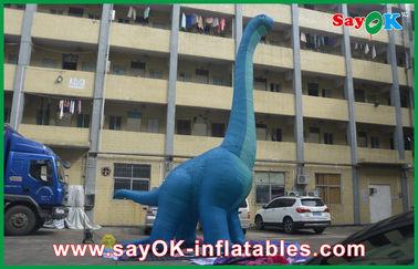 10m μπλε μεγάλο διογκώσιμο αδιάβροχο χτύπημα PVC δεινοσαύρων - επάνω δράκος χαρακτηρών κινουμένων σχεδίων