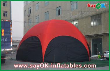Κόκκινο Hexagon μεγάλο υπαίθριο διογκώσιμο PVC σκηνών της 3M για την κλίση