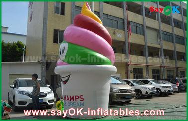 Ο γίγαντας προσάρμοσε τα διογκώσιμα προϊόντα, διογκώσιμο παγωτό για τη διαφήμιση/την προώθηση/κόμμα