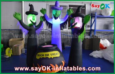 210D διογκώσιμα τρομακτικά φαντάσματα υφασμάτων της Οξφόρδης και μαγικό βάζο με το φωτισμό των οδηγήσεων για αποκριές