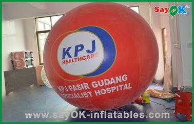 Κόκκινο μεγάλο ηλίου μπαλόνι αερίου ηλίου προϊόντων μπαλονιών εμπορικό διογκώσιμο