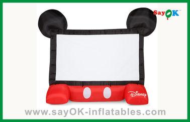 Αστεία παιδιών της Disney διογκώσιμη κινηματογράφων οθόνη προβολέων οθόνης κινητή διογκώσιμη