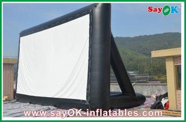 Διογκώσιμη οθόνη 6 X 3m CE TV υφασμάτων προβολής/SGS πιστοποιητικό